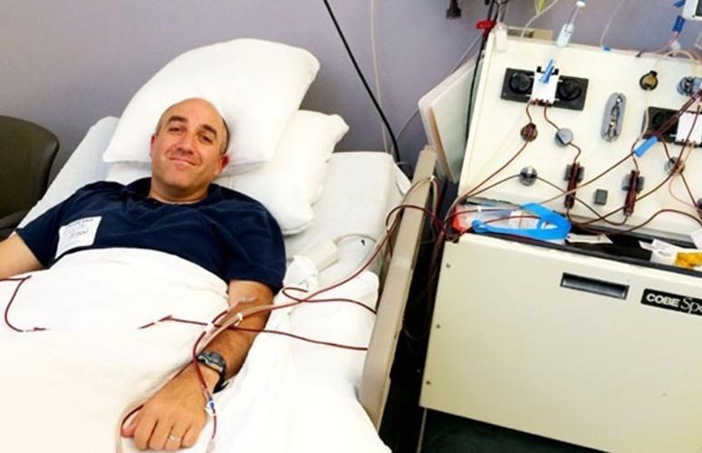 mark bernstein donate bone marrow