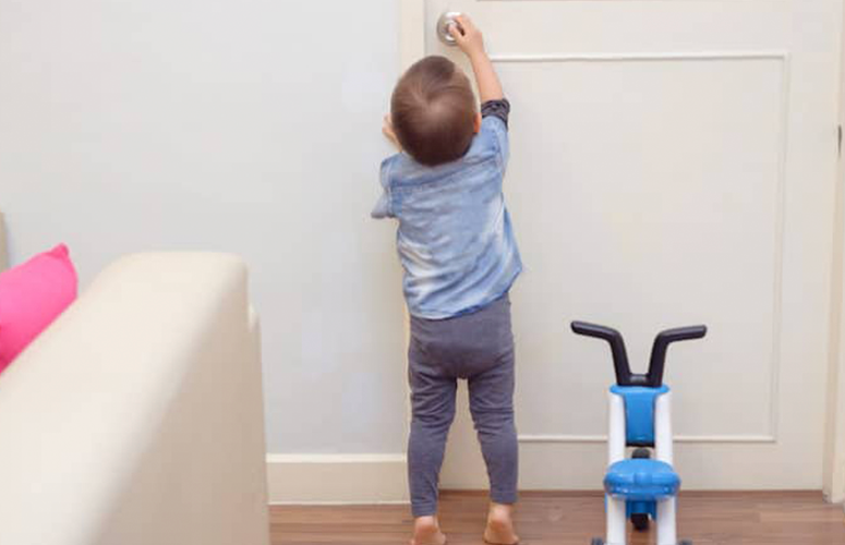 child proofing home