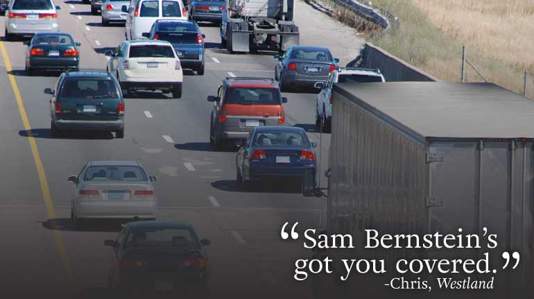 """Sam Bernstein's Got You Covered."" testimonial"