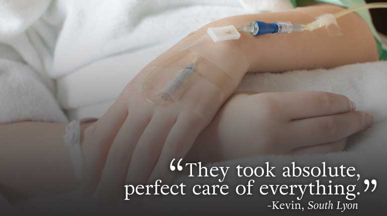 """They took absolute care of everything."" testimonial"