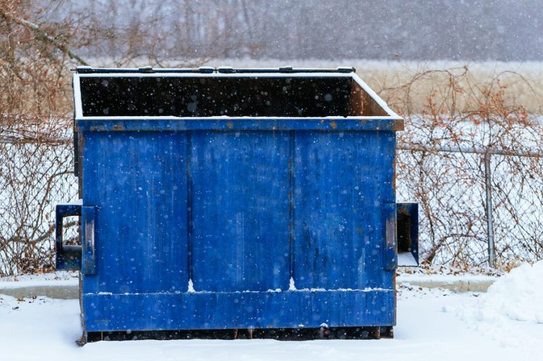 man found froze to death in dumpster