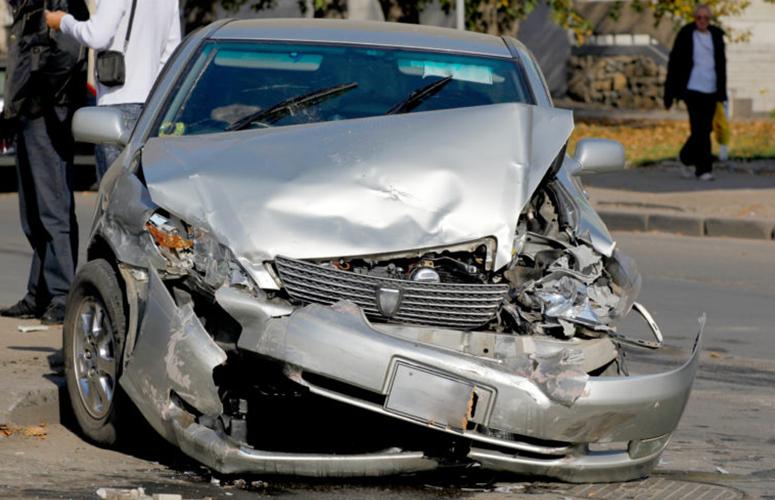 highway car crash