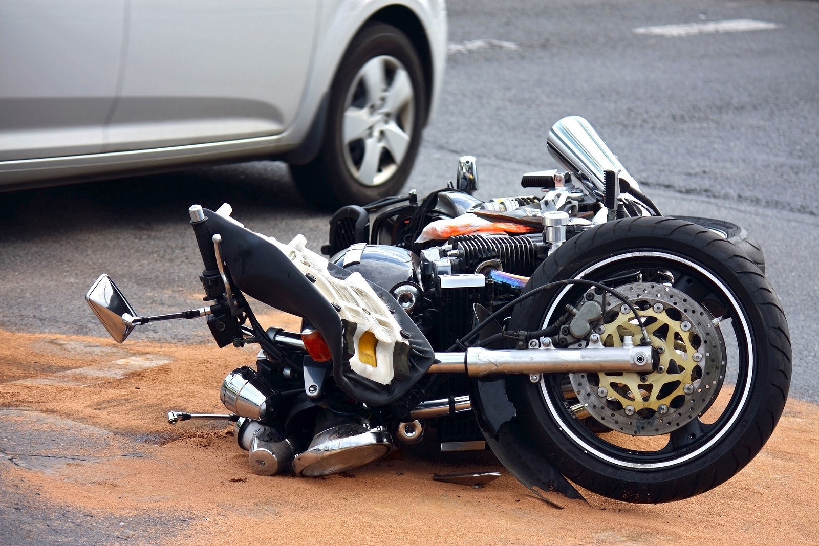 Motorcycle Crashes Decrease but Fatality Risk Remains High
