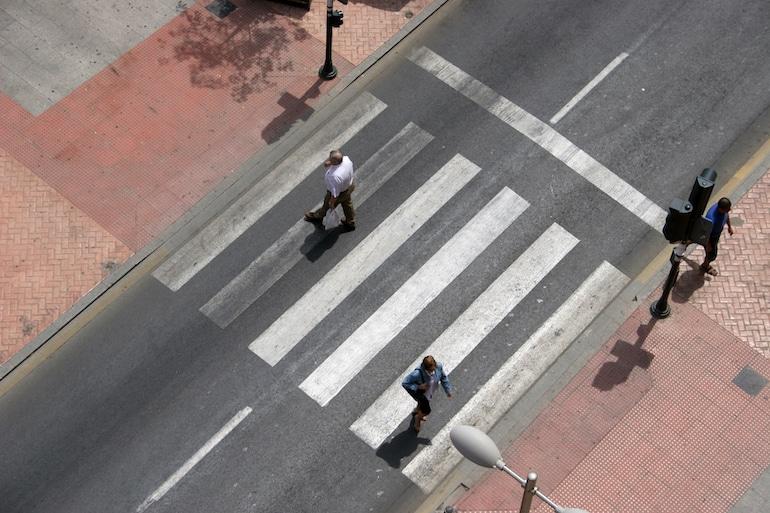 pedestrian crosswalk laws | Sam Bernstein