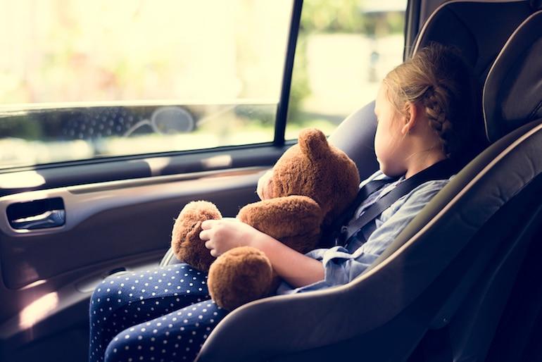 child in car seat, Michigan car seat laws, Michigan booster seat laws