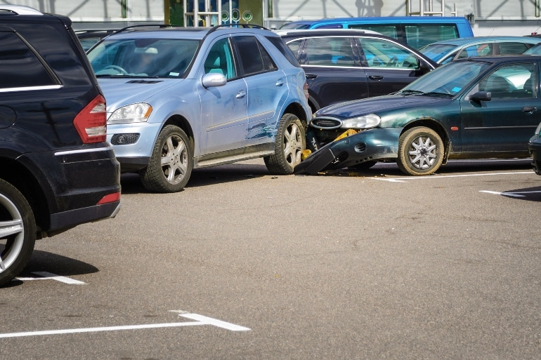 Michigan Parking Lot Accident Law