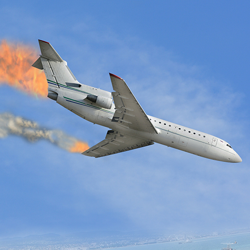 AIRPLANE<br> CRASHES