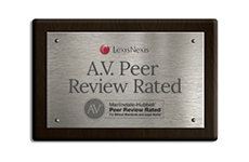 A.V. Peer Review Rated Logo