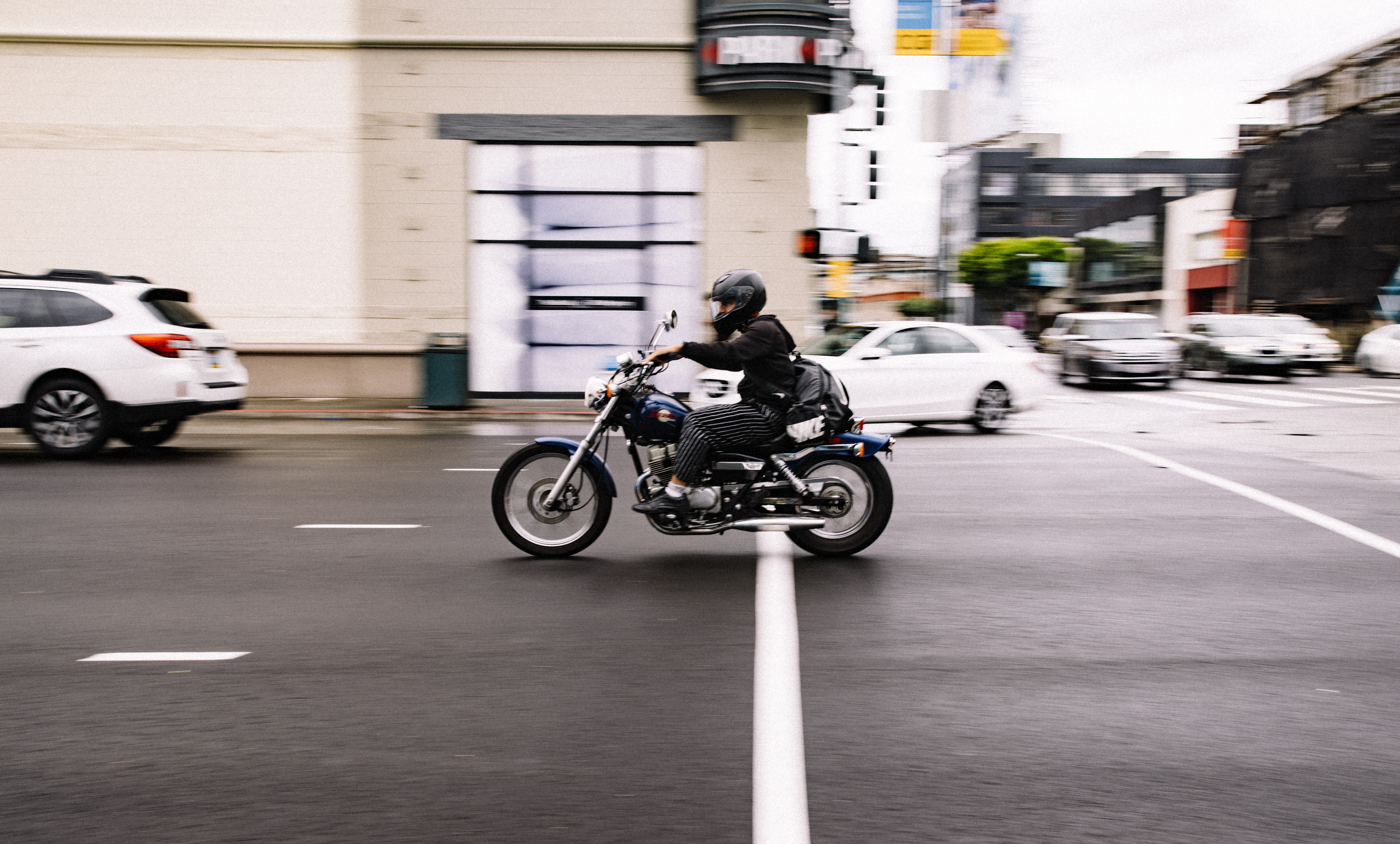 motorcyclist and passenger vehicle accident laws and insurance answers