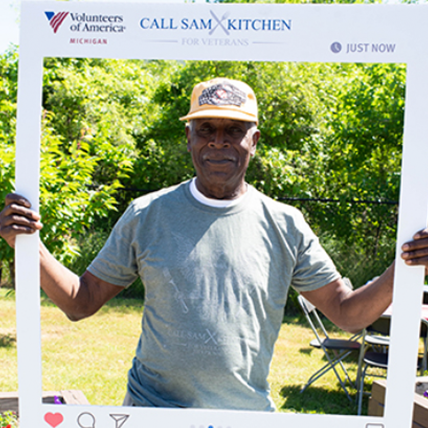 <h5>SECOND-ANNUAL VETERANS PICNIC</h5><hr /><p>Our staff enjoyed a summer BBQ, complete with music and games, with veterans who have received VOAMI assistance with housing or employment issues.</p>