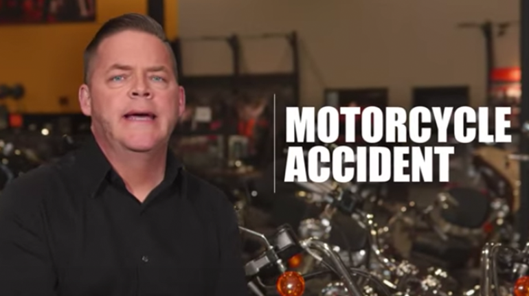 Motorcycle Accident video