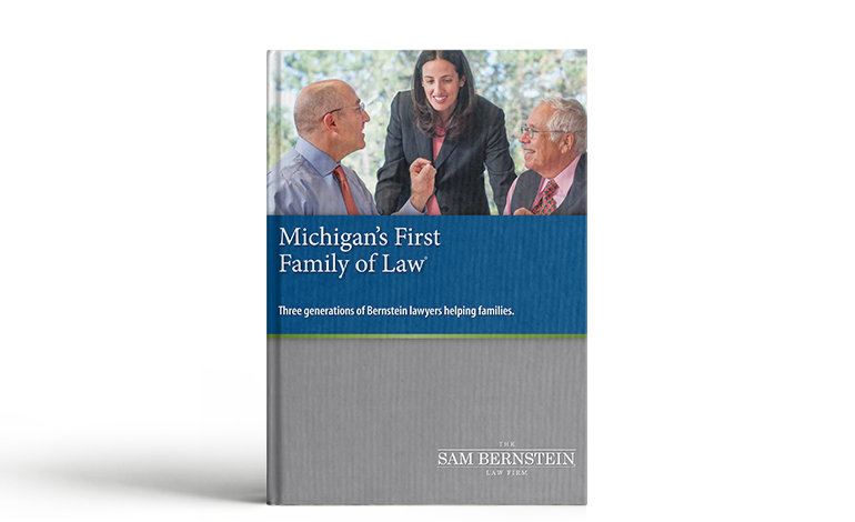 Michigan's First Family of Law book