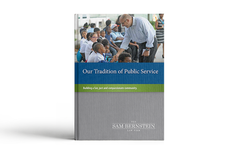 Our Tradition of Public Service book