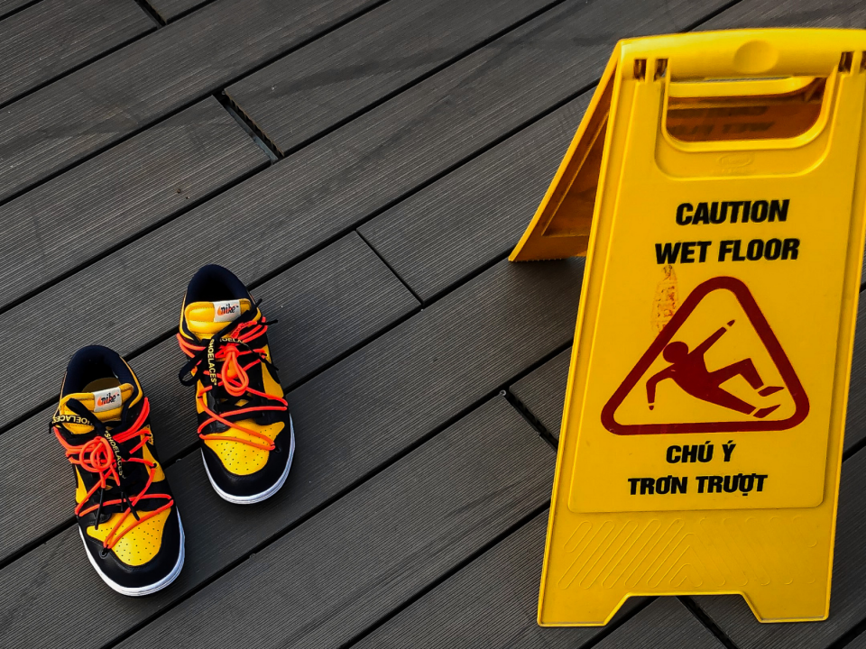 slip, trip and fall prevention tips