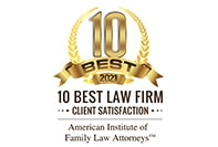 2021 10 Best Law Firm for Client Satisfaction