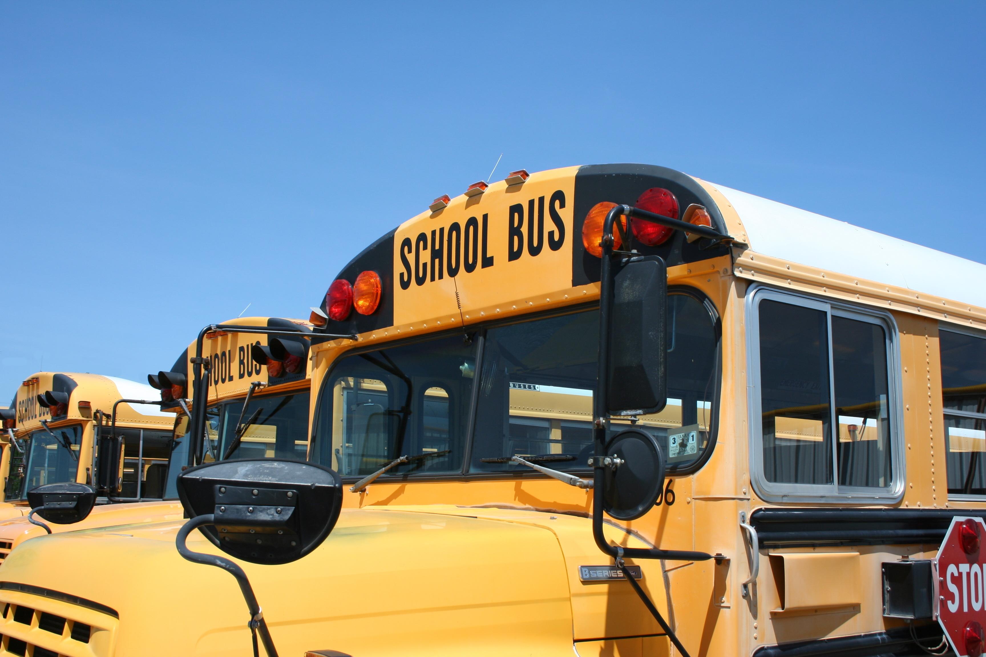 A,Close,Up,Of,The,Front,Of,A,School,Bus