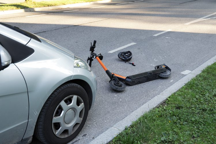 Electric Scooter Accidents in Michigan: Who is Liable?